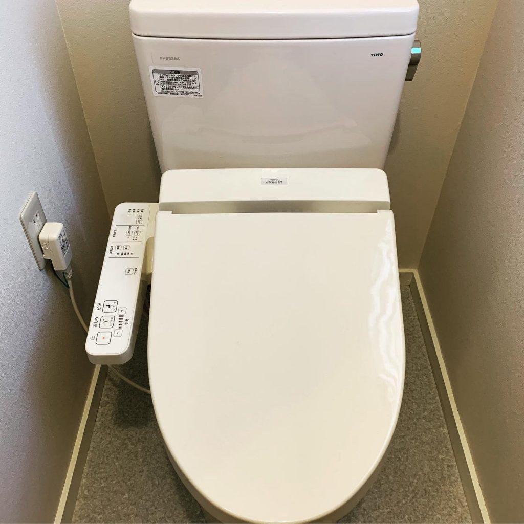 節水トイレへ取替🚰
