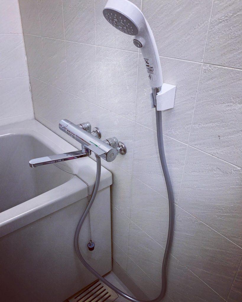 浴室水栓の取替🚰