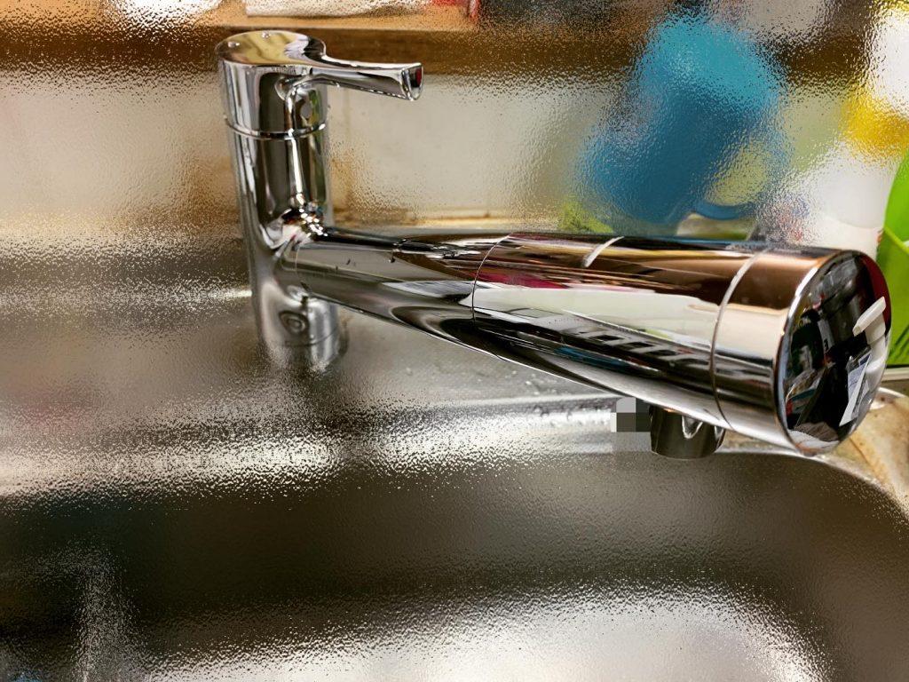 浄水器内蔵型水栓へ交換🚰